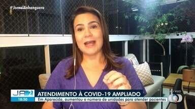 Prefeitura amplia rede de atendimento a Covid-19 em Aparecida de Goiânia - Município decidiu aumentar o número de unidades para atender pacientes.