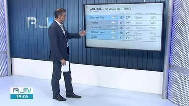 Meteorologia prevê tempo frio para esta quinta-feira no Sul do Rio - Massa de ar seco chegou sobre a região e deve fazer as temperaturas caírem bem.