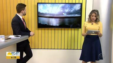 Michele Costa informa sobre a previsão do tempo para Sergipe nesta quinta-feira (20/08) - Michele Costa informa sobre a previsão do tempo para Sergipe nesta quinta-feira (20/08).