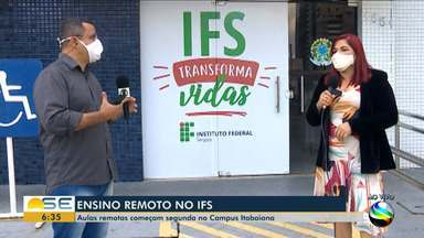 IFS de Sergipe terão aulas remotas durante a pandemia - IFS de Sergipe terão aulas remotas durante a pandemia.