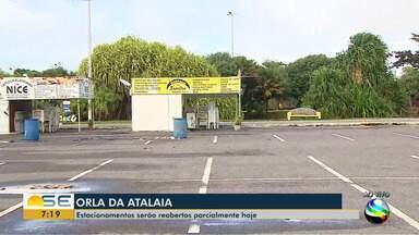 Quadro Mobilidade mostra como irão funcionar os estacionamentos na Orla de Aracaju - Quadro Mobilidade mostra como irão funcionar os estacionamentos na Orla de Aracaju.