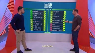 Bob Faria analisa a primeira derrota do Cruzeiro na Série B - Comentarista atribui tropeço a falta de criatividade do meio de campo e dificuldades na armação das jogadas de ataque