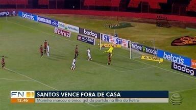 Santos vence fora e São Paulo empata no Morumbi pelo Campeonato Brasileiro - Jogos foram disputados nesta quinta-feira (20).