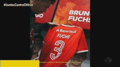 Bruno Fuchs se despede do Inter - Atleta publicou um vídeo nas redes sociais se despedindo do time.