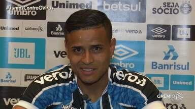 Nova aquisição do Grêmio, Éverton, será o camisa 11 do tricolor - Atleta de 31 anos, jogou no São Paulo antes. Éverton poderá participar do próximo jogo contra o Vasco.