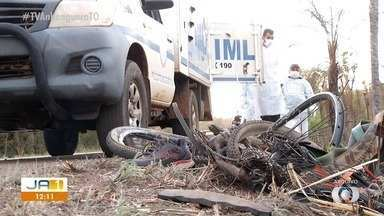 Motorista que atropelou dois ciclistas diz que o sol atrapalhou sua vista na TO-010 - Motorista que atropelou dois ciclistas diz que o sol atrapalhou sua vista na TO-010