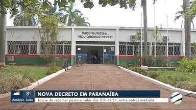 Paranaíba tem regras mais duras no decreto de isolamento social - Paranaíba tem regras mais duras no decreto de isolamento social
