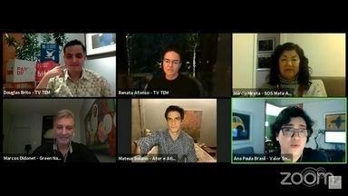 """'Parte de VC!': Live celebra um ano do projeto da TV TEM - O projeto """"Parte de VC!"""", da TV TEM está completando um ano e, com isso, uma live foi transmitida na quinta-feira (21) para discutir maneiras de preservação do meio ambiente."""