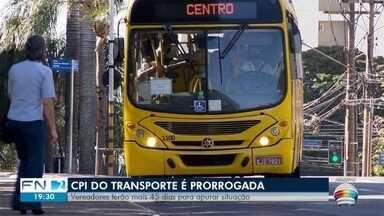 CPI que investiga o transporte coletivo é prorrogada em Presidente Prudente - Vereadores terão mais 45 dias para apurar situação.