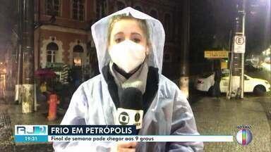 Fim de semana é de frio na Região Serrana - Veja as temperaturas.