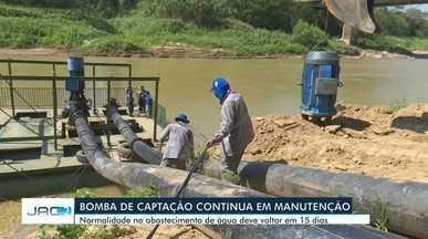 Moradores enfrentam transtornos com falta de abastecimento de água - Moradores enfrentam transtornos com falta de abastecimento de água