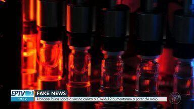 Fake news sobre vacina contra a Covid-19 aumentam nas redes sociais, diz USP - Pesquisadores de Ribeirão Preto (SP) fizeram relatório e enviaram ao Congresso Nacional.