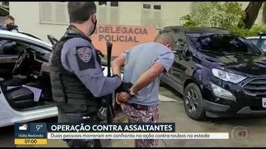 Polícia Civil faz operação contra ladrões de cargas, veículos e suspeitos de latrocínio - Os agentes estão nas ruas do Rio para cumprir mais de 100 mandados de prisão contra foragidos da Justiça por crimes de roubos e receptadores.