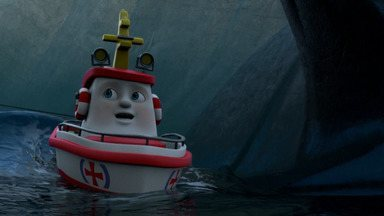 Não Vá Lá! - Estreito assustador é uma armadilha e todo mundo sabe disso, mas quando Elias vê a entrega do hospital flutuando no Estreito, ele não tem escolha senão navegar e se arriscar para resgatar os pacotes.