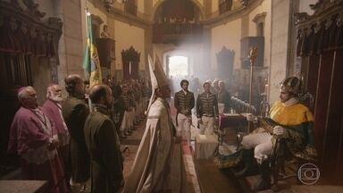 Piatã tem um pressentimento sobre Anna - Ele se ausenta enquanto Dom Pedro é coroado Imperador do Brasil