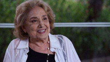 Eva Wilma - Eva Wilma fala de suas vilãs e o prazer de interpretar a maldade, ela salienta a importância do humor na construção das vilãs. Eva também homenageia o público pelos seus 65 anos de carreira.