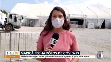 Pólos de triagem para Covid-19 são desativados em Maricá; apenas o do Centro funcionando - Segundo a Prefeitura, os pólos tinham baixas procuras.
