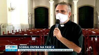 Sobral avança para a última fase de retomada da economia - Saiba mais no g1.com.br/ce