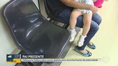 Defensoria Pública de Minas Gerais faz mutirão virtual para reconhecimento de paternidade - Interessados devem se inscrever de hoje (1º) até o dia 30 de setembro nos canais digitais da Defensoria.
