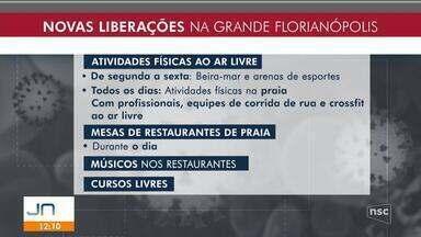 Decreto com flexibilizações em cidades da Grande Florianópolis será publicado nesta terça - Decreto com flexibilizações em cidades da Grande Florianópolis será publicado nesta terça