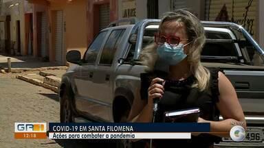 Município de Santa Filomena tem apenas 17 casos confirmados da Covid-19 - Na região da área de cobertura da TV Grande Rio, esse é o menor número.