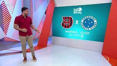 Cruzeiro está pressionado na Série B do Campeonato Brasileiro - Jogo contra o Brasil, de Pelotas, pode ser determinante para a permanência do técnico Enderson Moreira na Toca da Raposa