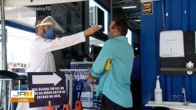 Decreto que restringe o horário funcionamento de comércio em Palmas é prorrogado - Decreto que restringe o horário funcionamento de comércio em Palmas é prorrogado