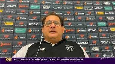 Guto Ferreira x Rogério Ceni: quem leva a melhor amanhã? - Saiba mais em ge.globo/ce