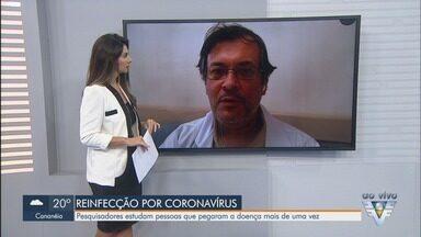 Pesquisadores da USP fazem estudos com pessoas que contraíram Covid-19 mais de uma vez - Max Igor Lopes é coordenador do ambulatório de reinfecção do Hospital das Clínicas e fala sobre pesquisa.