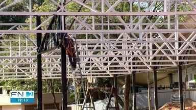 Obras da Prefeitura apresentam problemas em Presidente Prudente - Construções afetadas são o Camelódromo e o Atende Prudente.