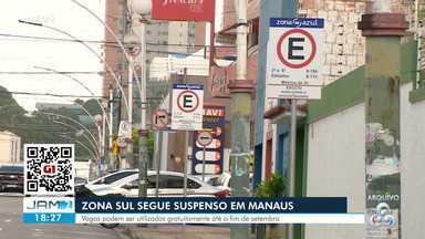 Zona Azul segue suspenso em Manaus - Vagas podem ser utilizadas gratuitamente até o fim de setembro