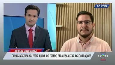 Caraguatatuba teme que feriado de 7 de Setembro gere aglomerações na cidade - Prefeitura promete fazer fiscalizações para evitar excesso de pessoas