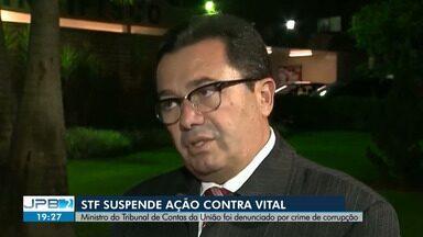 STF suspende ação contra Vital do Rêgo Filho - Ministro do Tribunal de Contas da União foi denunciado por crime de corrupção.
