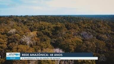 Rede Amazônica completa 48 anos com foco em informar sobre a Amazônia - Rede Amazônica completa 48 anos com foco em informar sobre a Amazônia