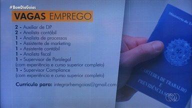 Veja vagas de emprego em Goiás - Confira!