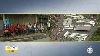 Rodoviários da Caxangá fazem protesto e passageiros ficam sem ônibus - TI Xambá não abriu porque não havia coletivos.