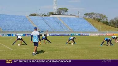 Londrina vai para o ataque contra o São Bento - Vitória no jogo deste sábado (5) pode colocar o Tubarão entre os primeiros na Série C