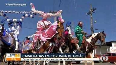 Cavalhadas é cancelada, em Corumbá - Festa foi cancelada por causa da pandemia