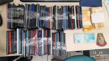 Homem foi preso tentando roubar celulares em shopping de São José - Confira as informações.