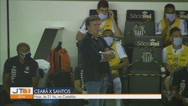 Santos enfrenta o Ceará pelo Campeonato Brasileiro - Peixe joga às 21h, na Arena Castelão.