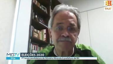 Nilmário Miranda é o candidato do PT à prefeitura de BH - O lançamento foi anunciado numa convenção do partido, transmitida pela internet.