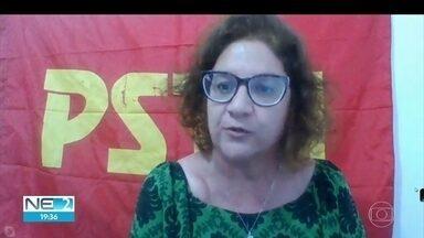 PSTU oficializa Cláudia Ribeiro como candidata à prefeitura do Recife - Na convenção, realizada pela internet, partido também definiu Kátia Teles como vice-prefeita na chapa.