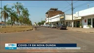 Cidade que já zerou casos de Covid-19 registra 400 infectados e 10 mortes - Cidade que já zerou casos de Covid-19 registra 400 infectados e 10 mortes