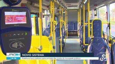 Porto Velho terá três pontos para emissão de novo cartão do transporte coletivo - Cadastro será realizado para a confecção do cartão de passagens de ônibus da nova empresa de transporte coletivo, segundo a prefeitura.