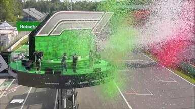 GP da Itália tem pódio inédito com vitória de Gasly - GP da Itália tem pódio inédito com vitória de Gasly