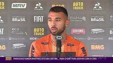 Tem gringo pintando no Coritiba - Ramón Martínez, volante paraguaio, vem do Atlético-MG para reforçar o Coxa