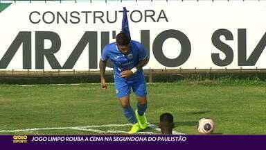 Jogo limpo rouba a cena na segundona do Campeonato Paulista - Jogo limpo rouba a cena na segundona do Campeonato Paulista