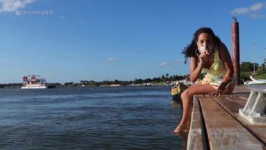 Giro Sergipe mostra os encantos da Orla Pôr do Sol, em Aracaju - Veja!