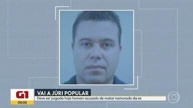 Acusado de matar namorado da ex-mulher será julgado em Belo Horizonte - De acordo com o processo, Antônio Azevedo dos Santos não aceitava o fim do relacionamento e matou a tiros Guilherme Elias Veisac.