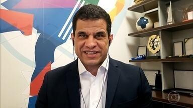 Mizael Conrado é presidente do Comitê Paralímpico Brasileiro - Bicampeão Olímpico de Futebol de 5 diz que houve demora no adiamento das olimpíadas e paralimpíadas. Mizael conta como está administrando a vida durante a pandemia e diz que o cuidado dos cegos deve ser ainda maior por conta da importância do toque